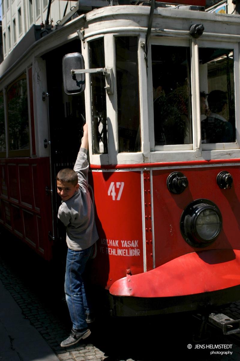 Tramvay in Beyoglu