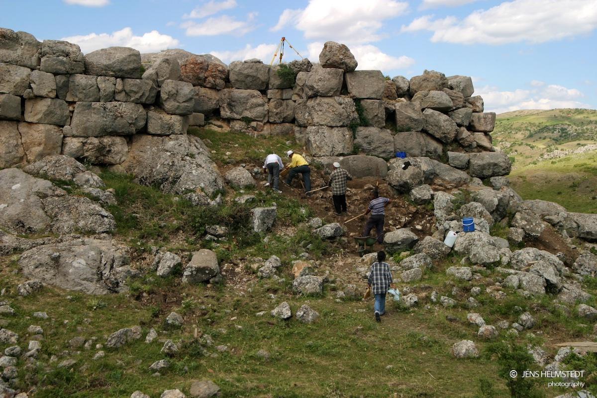 Ausgrabungen des DAI in Hattuscha