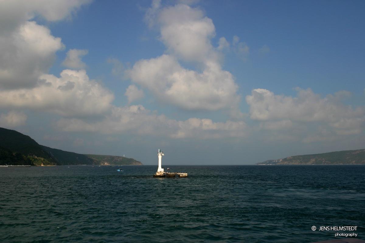 Bosporus-Mündung zum Schwarzen Meer