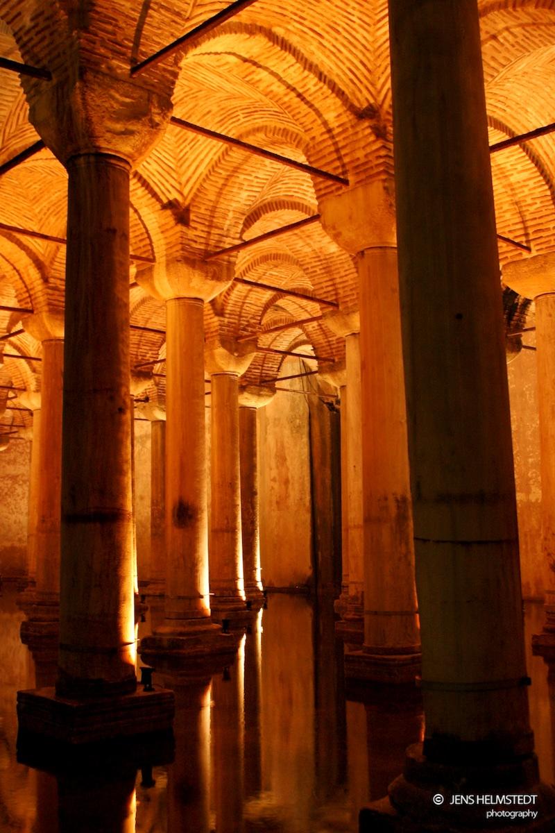 Byzantinische Zisterne in Istanbul