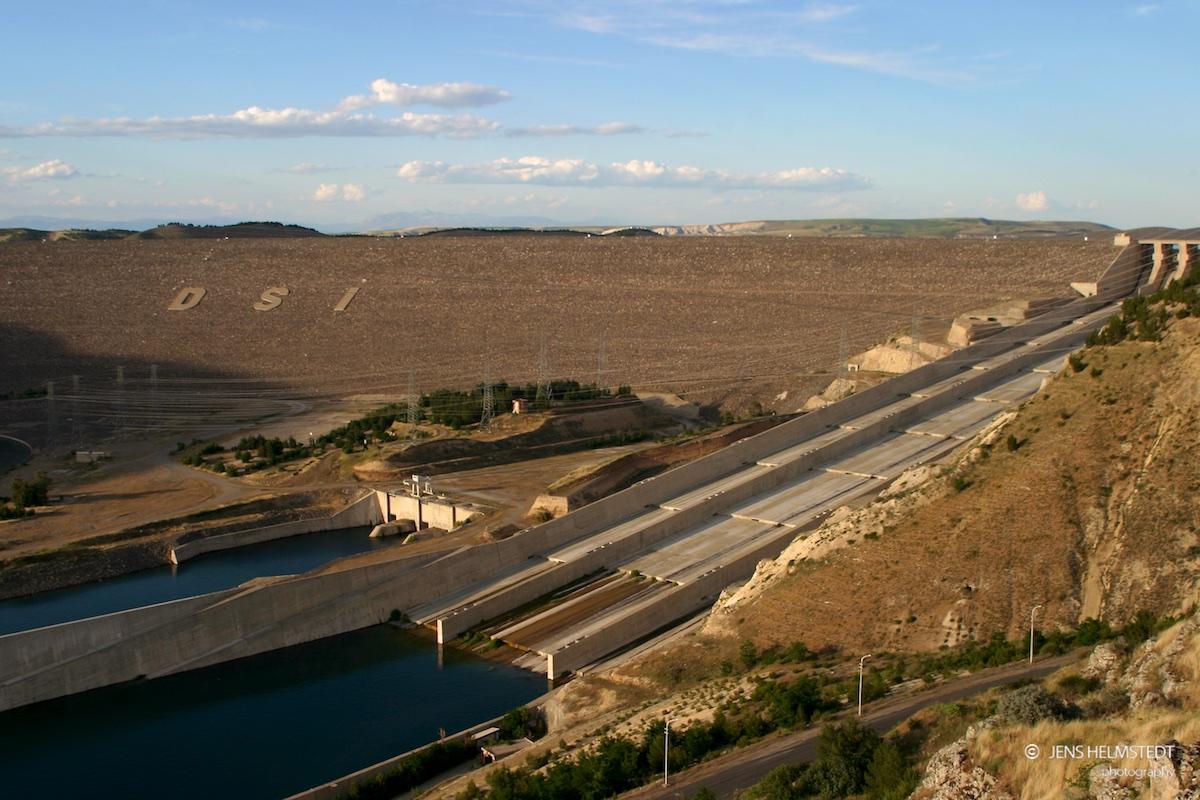 Atatürk Staudamm in Südostanatolien