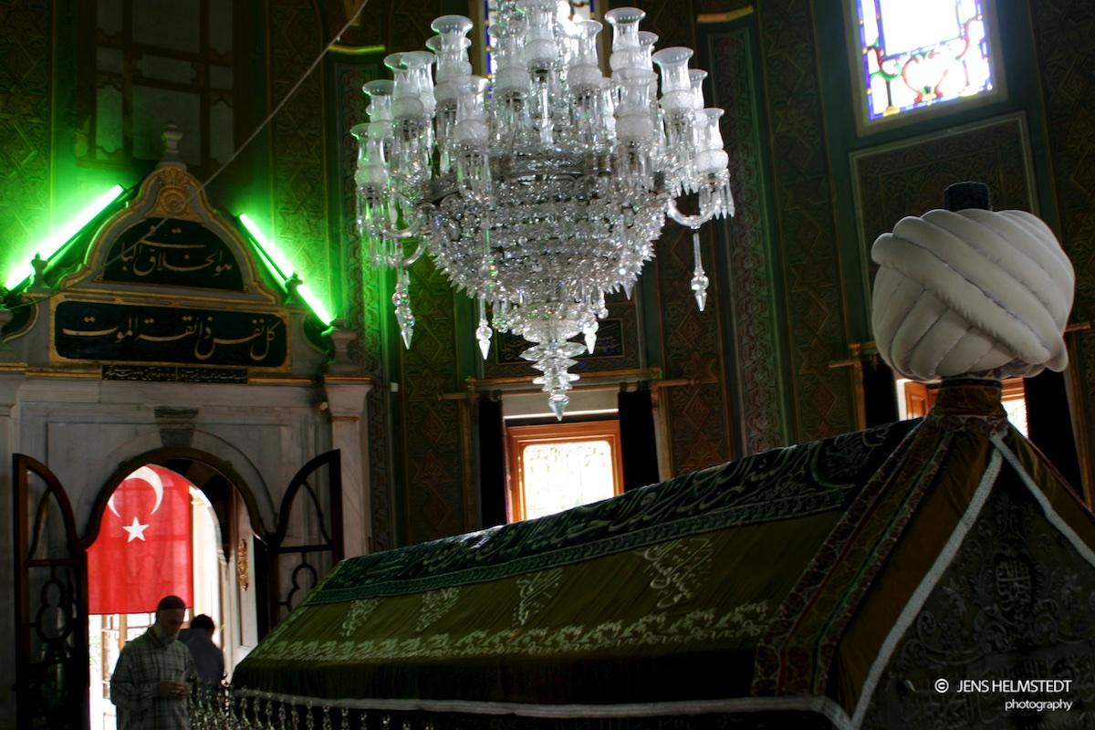 Mausoleum von Fatih Sultan Mehmet, dem Eroberer Konstantinopels