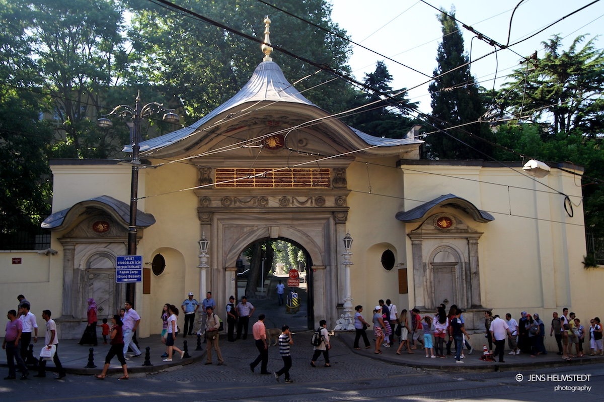 Eingang zur Hohen Pforte in Istanbul