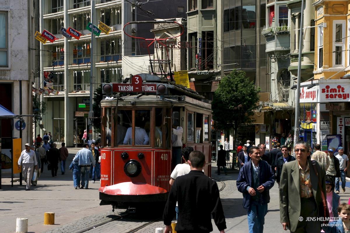 Istiklal-Caddesi in Beyoğlu