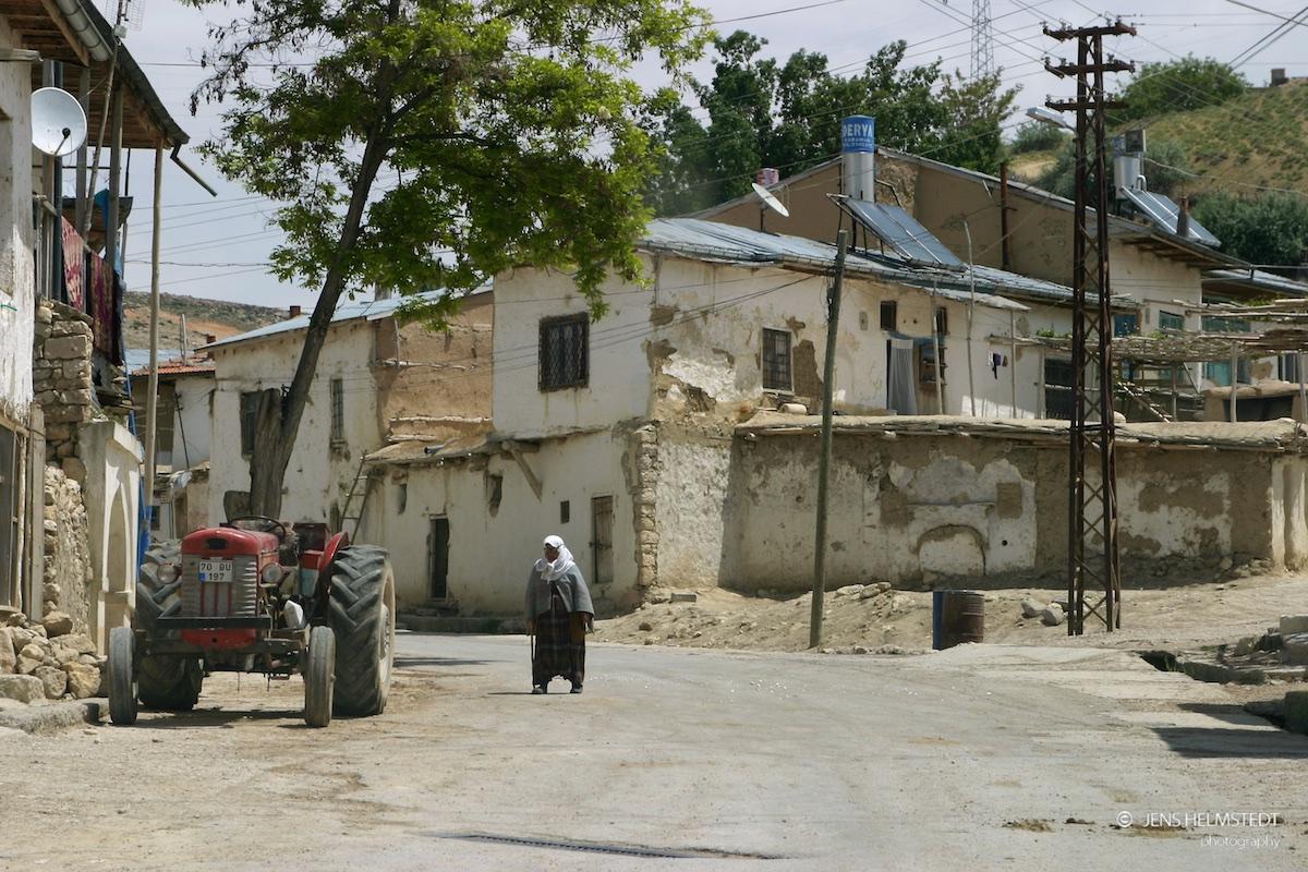 Das Dorf Yeşildere in der Karaman-Region