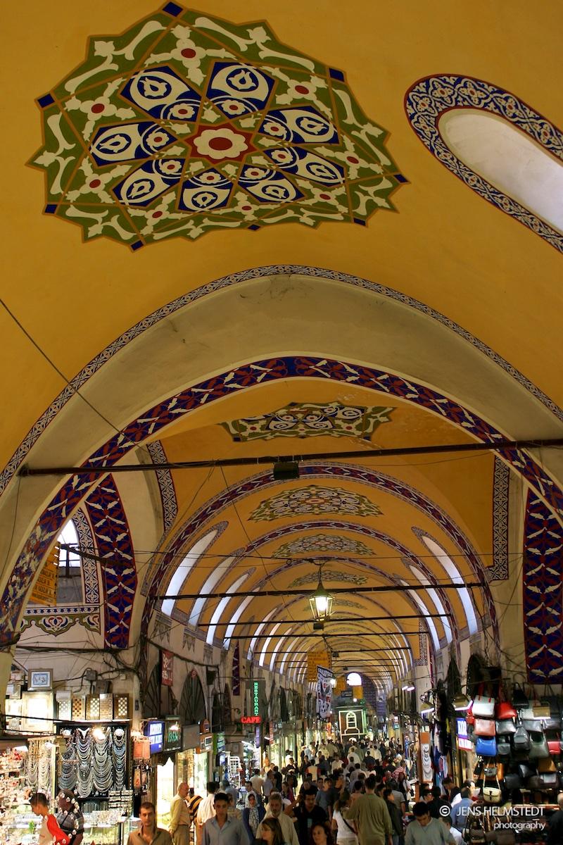 Der Gedeckte Basar in Istanbul