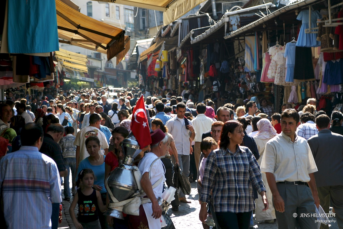 Basarviertel in Istanbul
