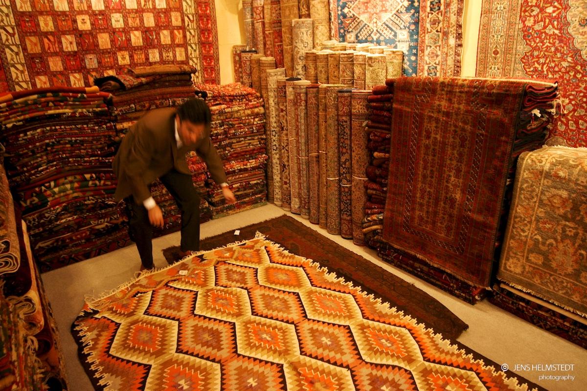 Teppichhändler im Gedeckten Basar in Istanbul