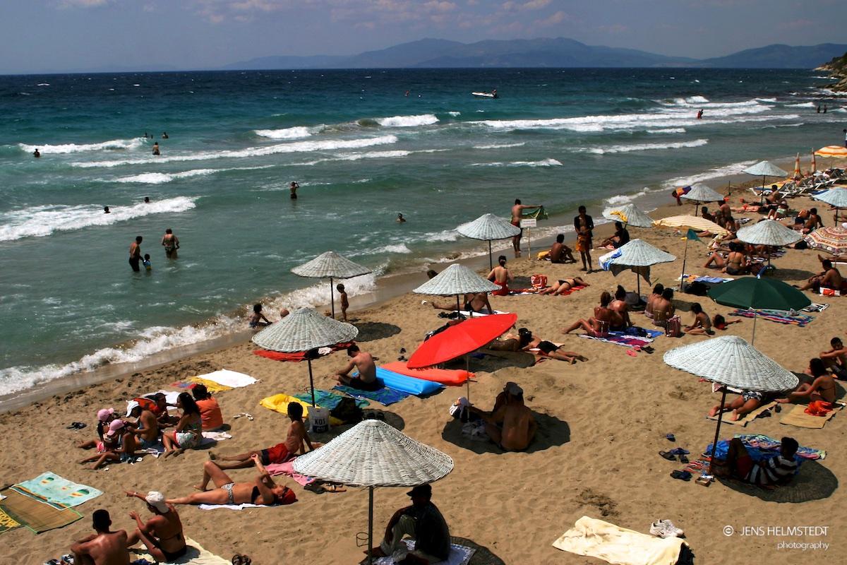 Strandurlaub an der Mittelmeerküste der Türkei