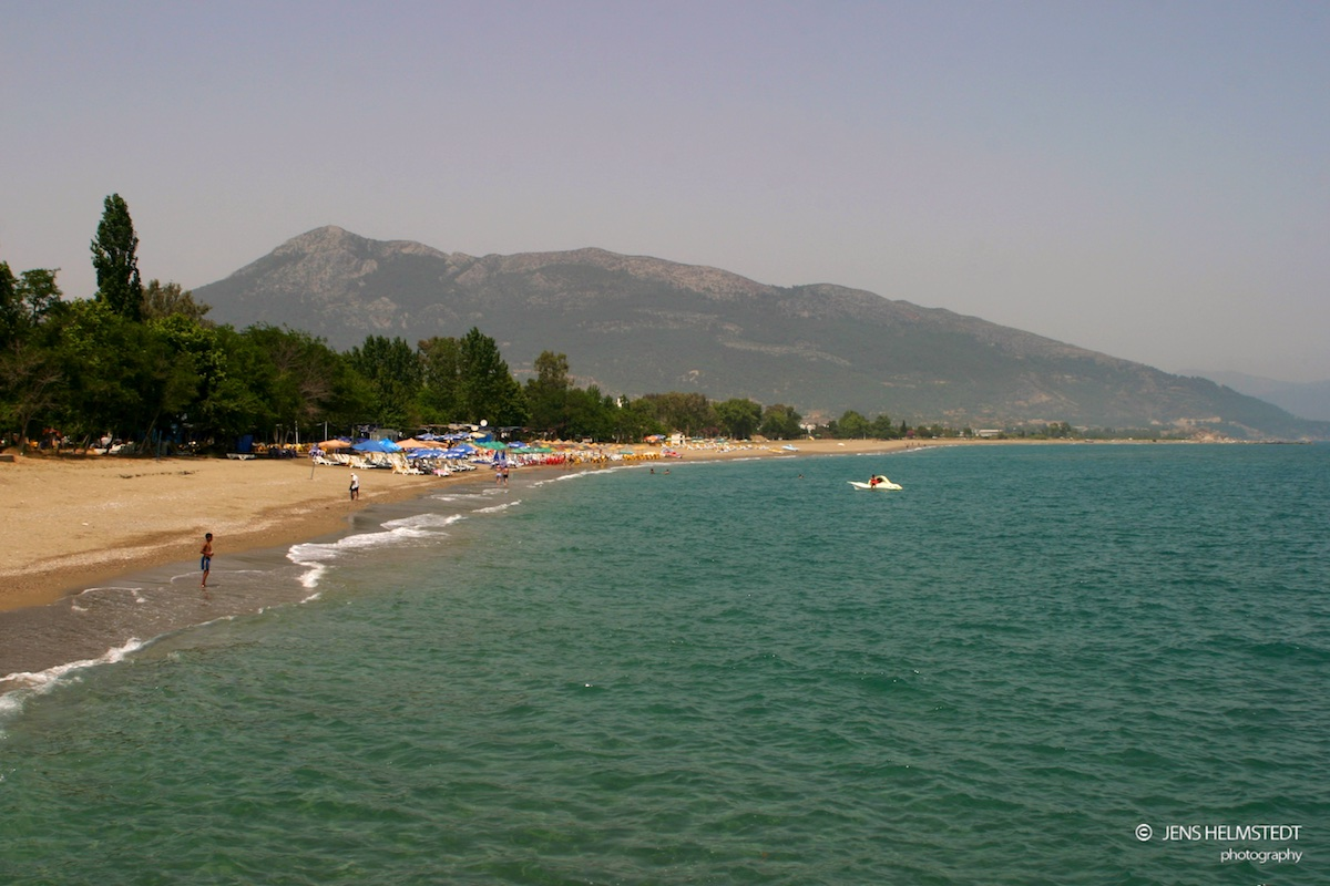 Die türkische Mittelmeerküste bei Anamur