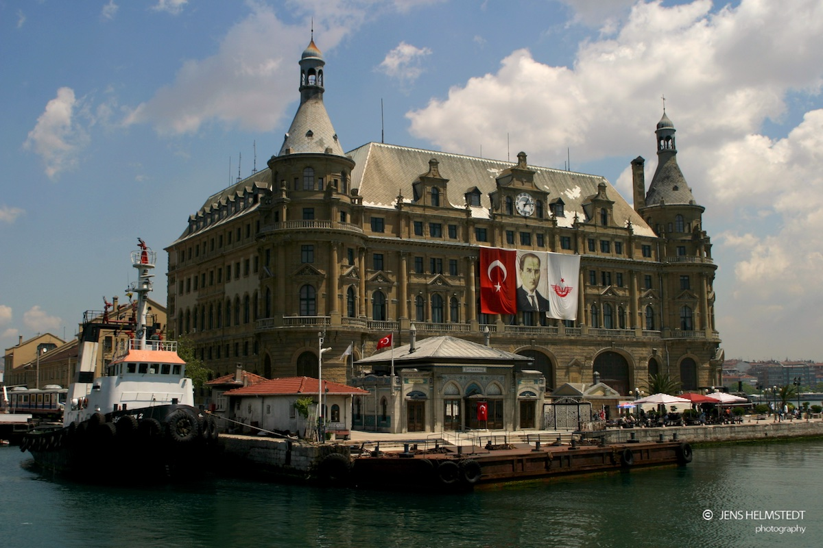 Bahnhof Haydarpaşa in Istanbul