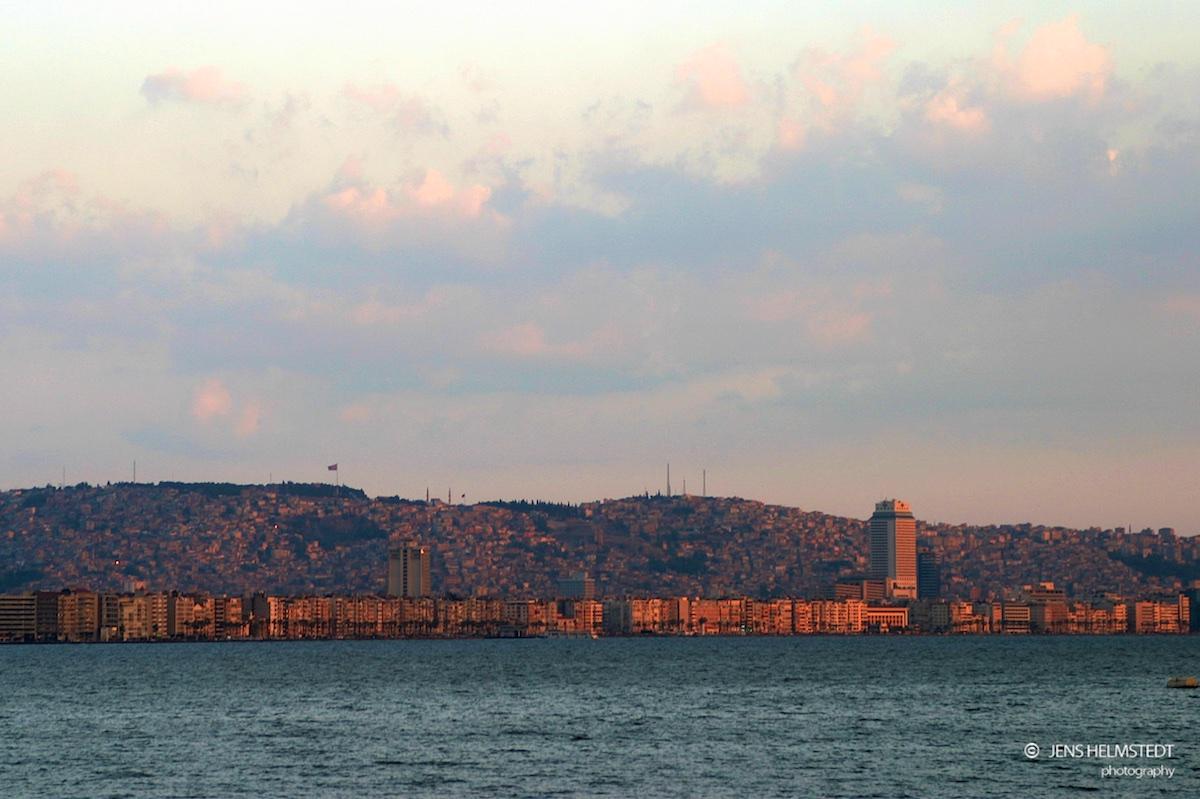 Izmir in der Ägäis-Region der Türkei