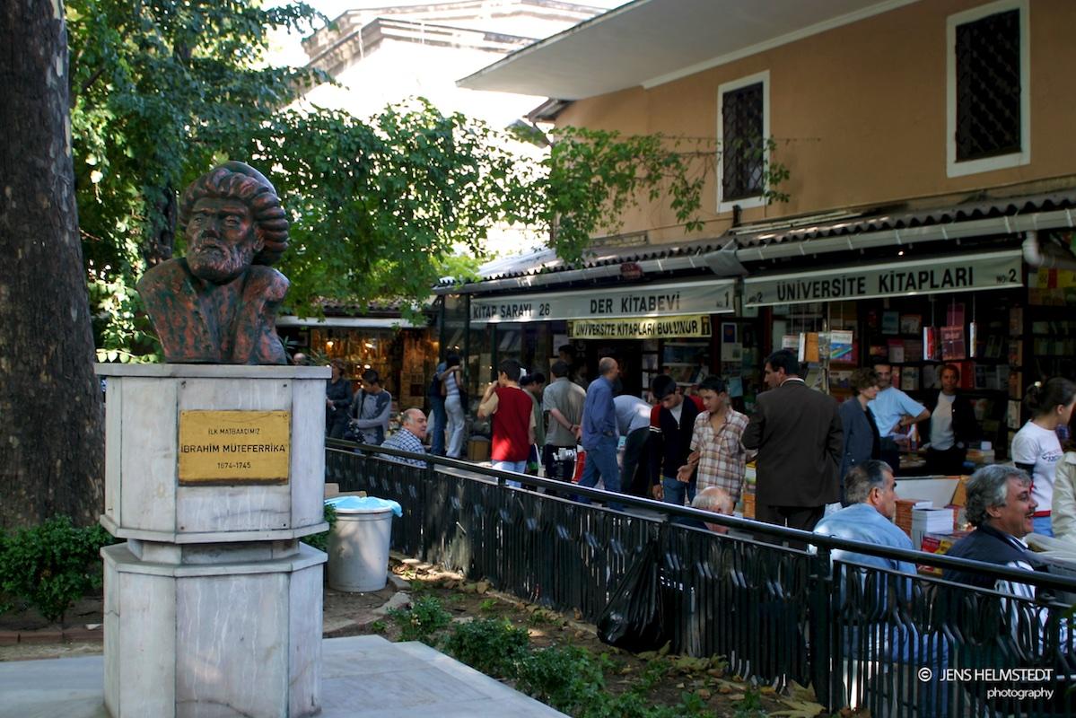 Sahaflar Çarşısı – Der alte Bücherbasar in Istanbul