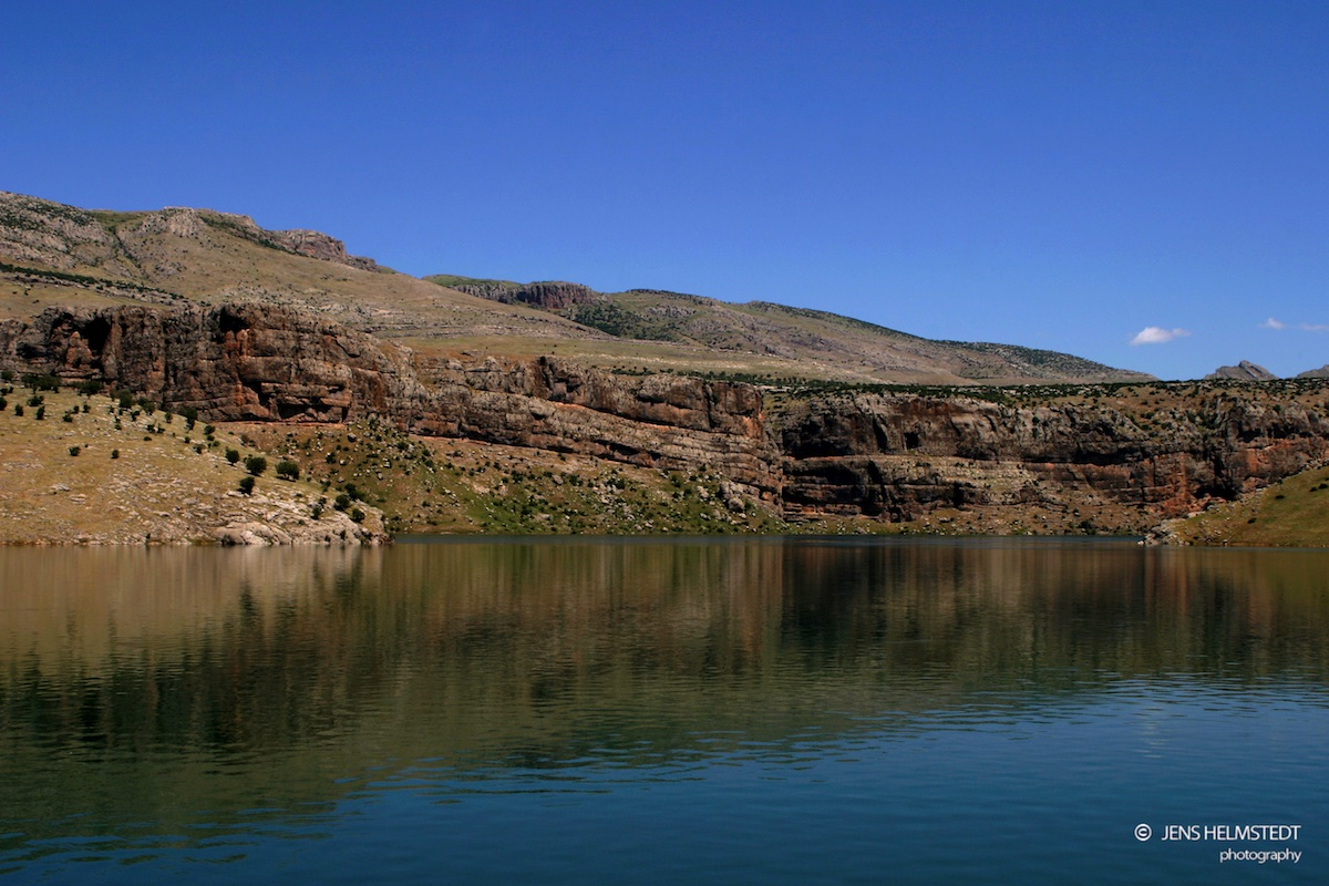 Euphrat im Südosten der Türkei