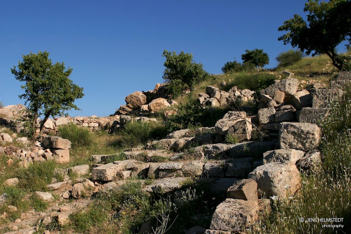 Ruinen der antiken Stadt Arsameia