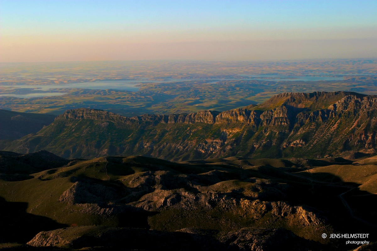 Ausblick vom Berg Nemrut