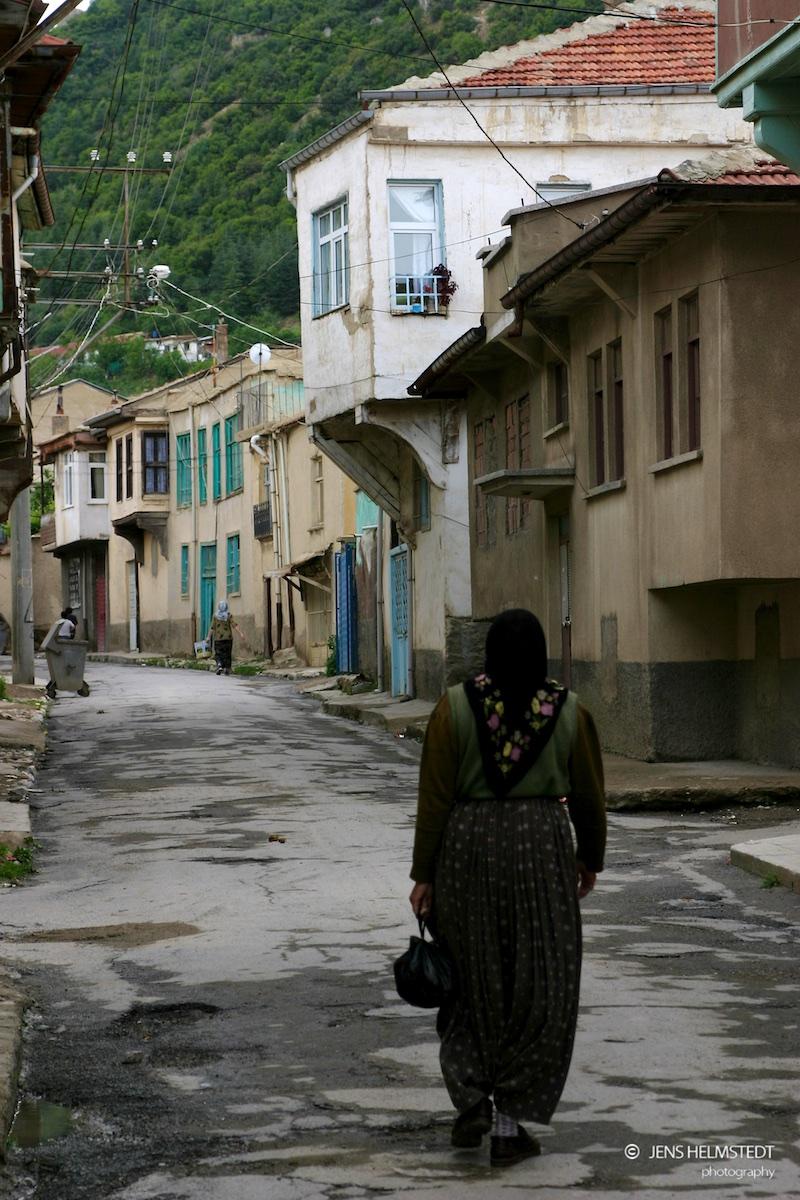 Die Altstadt von Akşehir