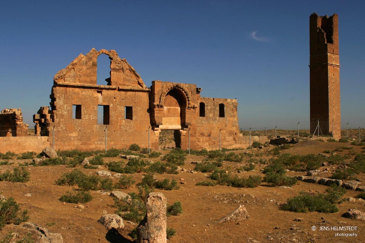 Ruinen der ersten islamischen Universität in Harran