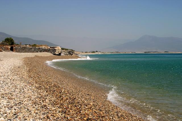 Strand in Anamur, Mittelmeerküste der Türkei
