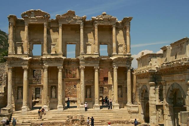 Celsus Bibliothek in Ephesus