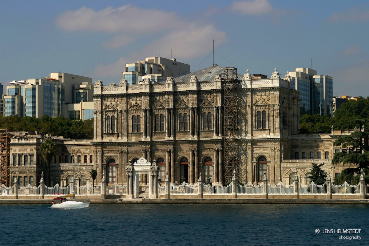 Dolmabahçe Palast in Istanbul