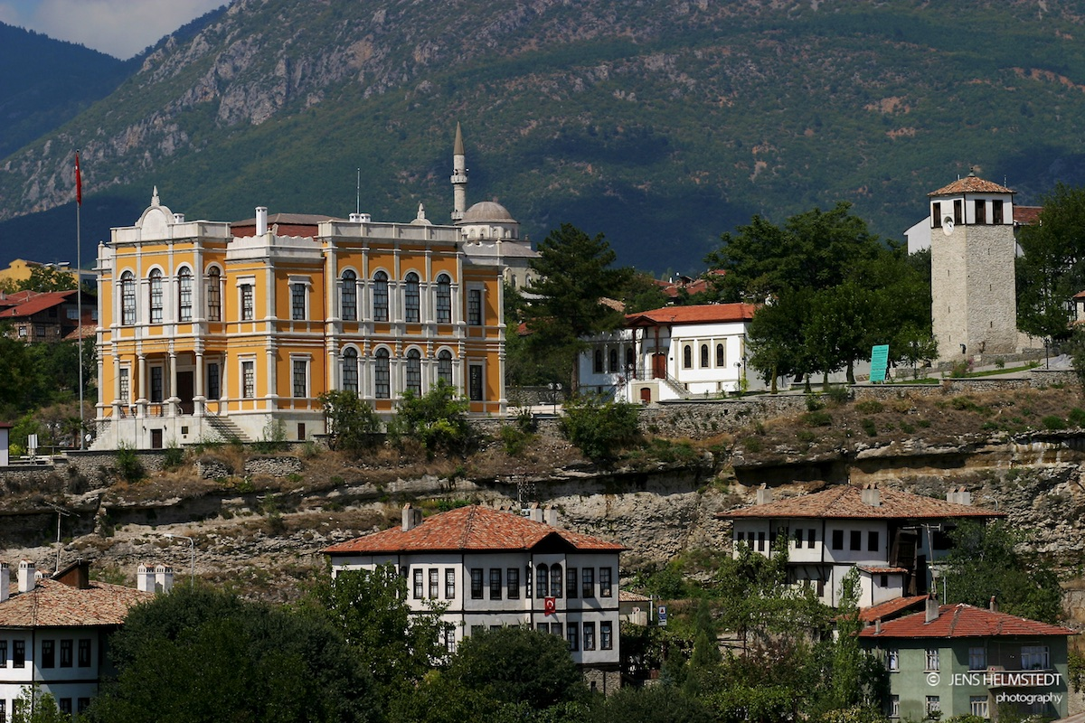 Kaymakam Haus und Uhrturm in Safranbolu