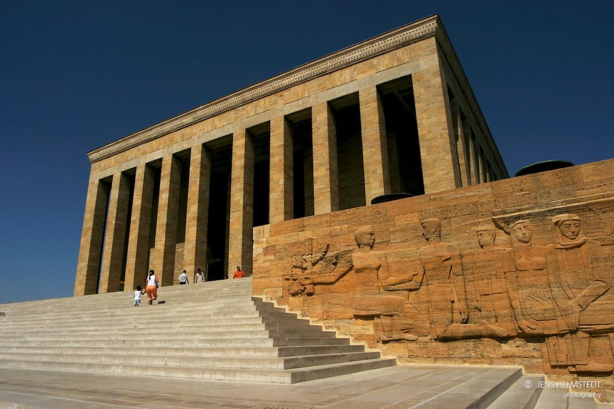 Anıtkabir – Das Atatürk Mausoleum in Ankara