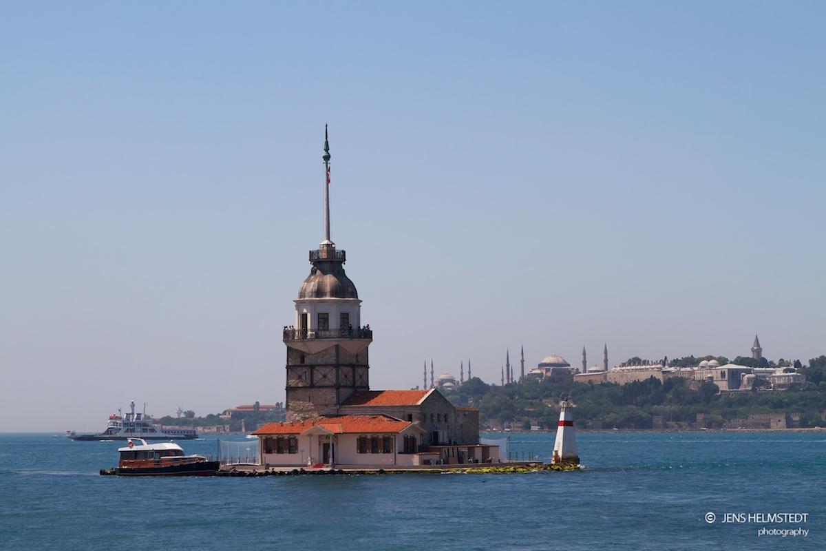 Kız Kulesi - Der Mädchenturm im Bosporus