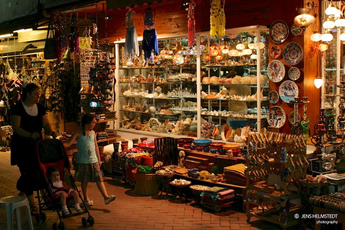 Souvenirläden in Fethiye