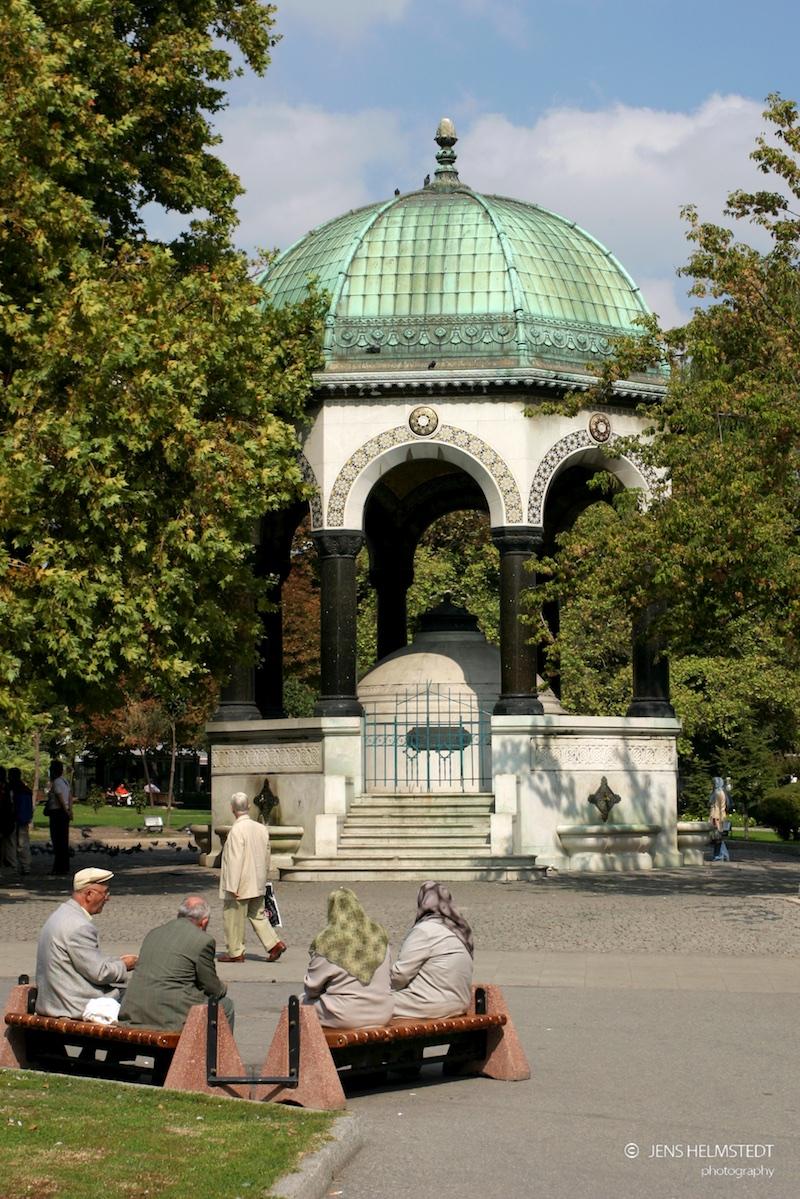 Kaiser-Wilhelm-Brunnen in Istanbul