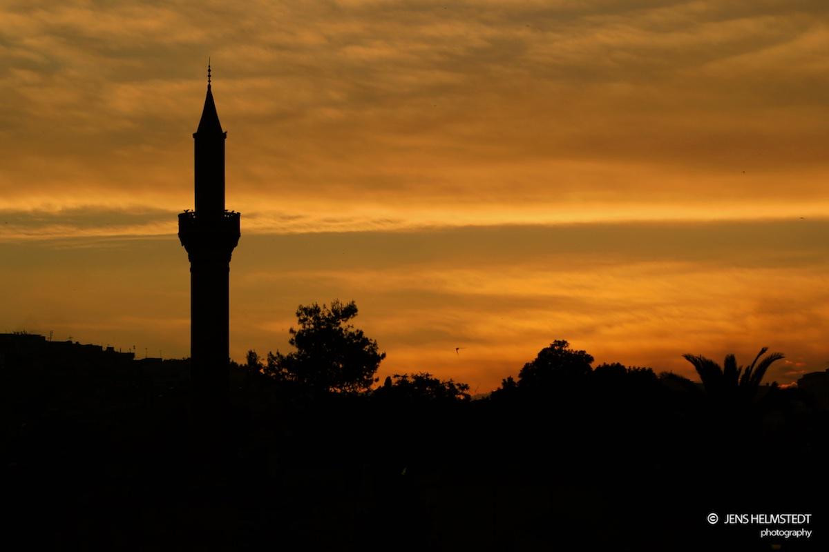 Sonnenuntergang in Urfa