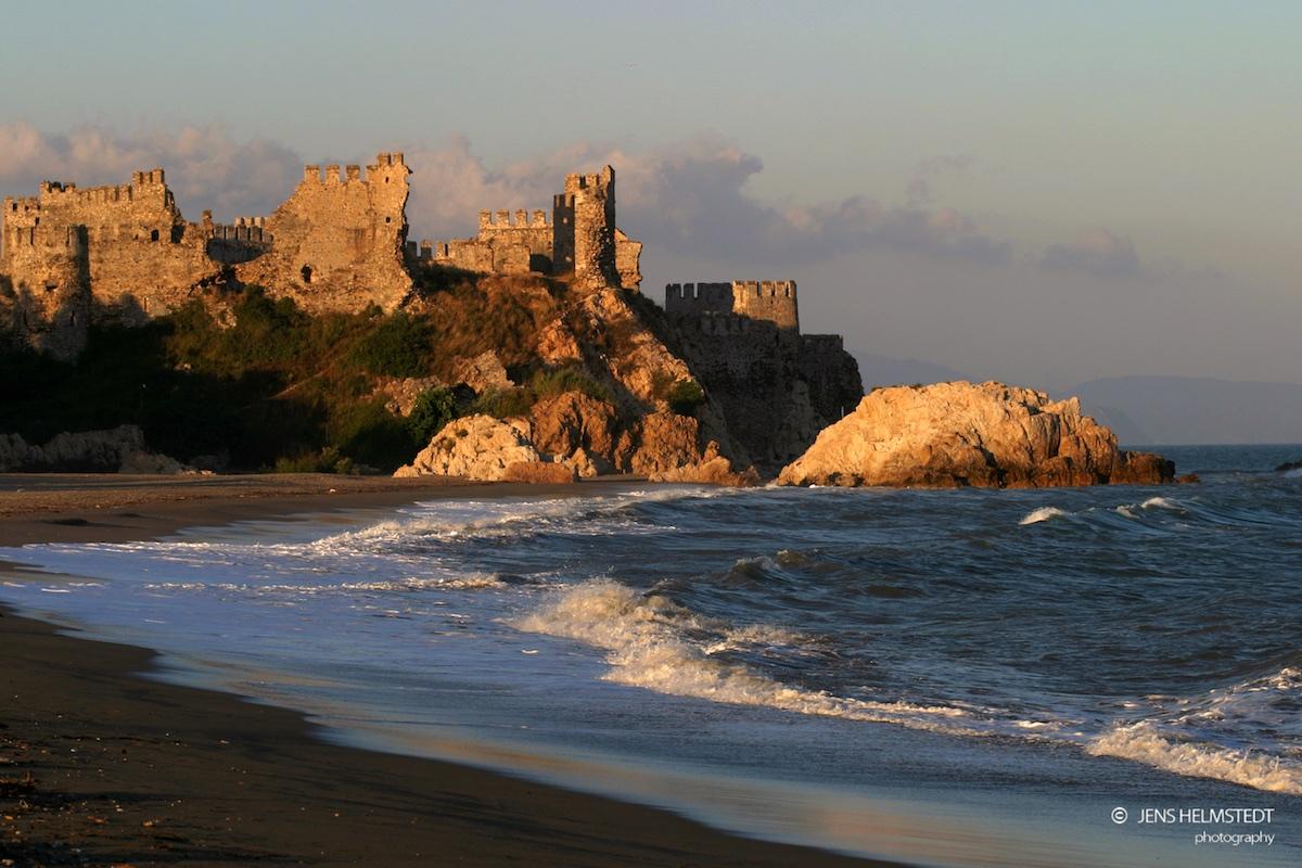 Ritterburg in Anamur an der Mittelmeerküste der Türkei