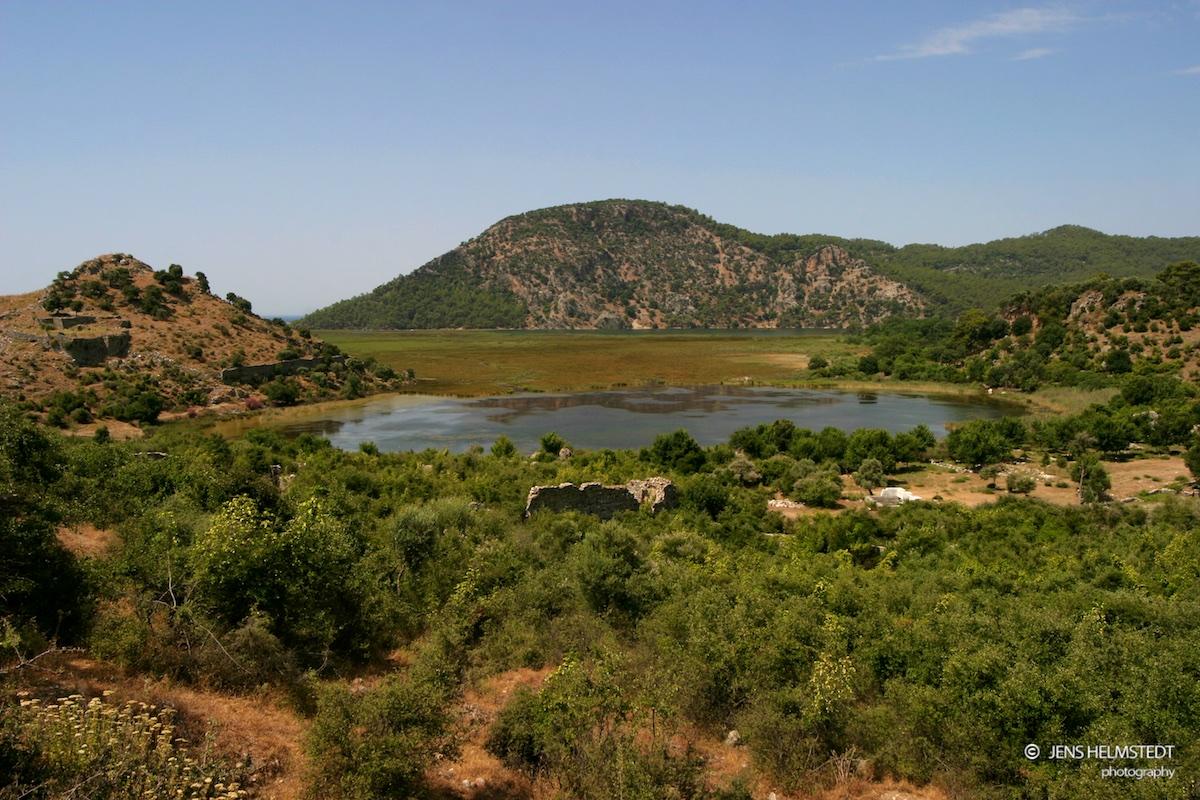 Ehemaliger Hafen der antiken Stadt Kaunos