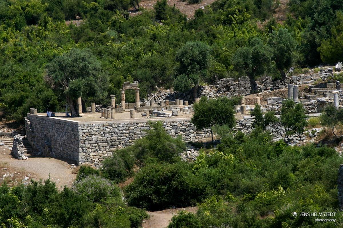 Ruinen der antiken Stadt Kaunos