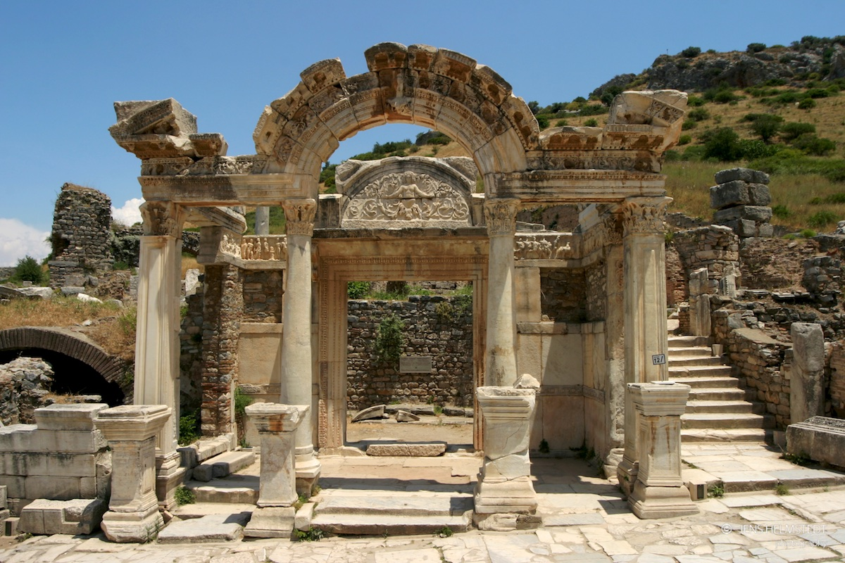 Hadrian Tempel in Ephesos