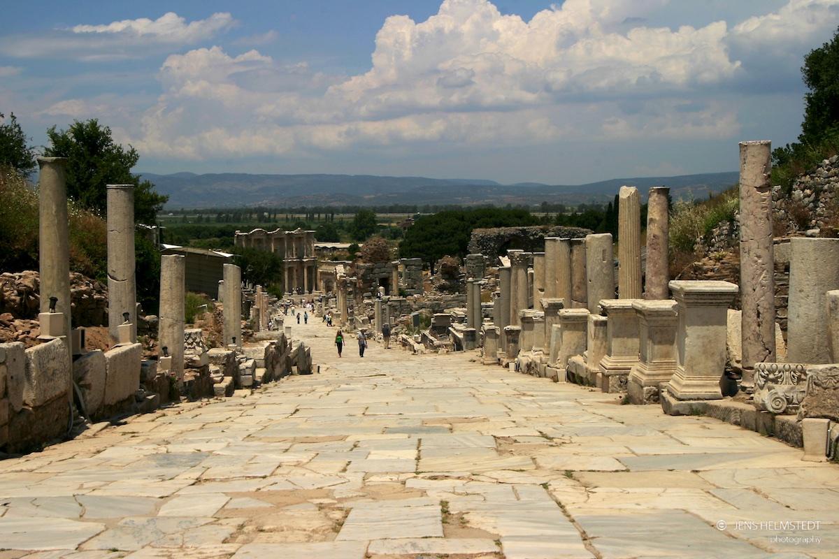 Römische Strasse in Ephesos