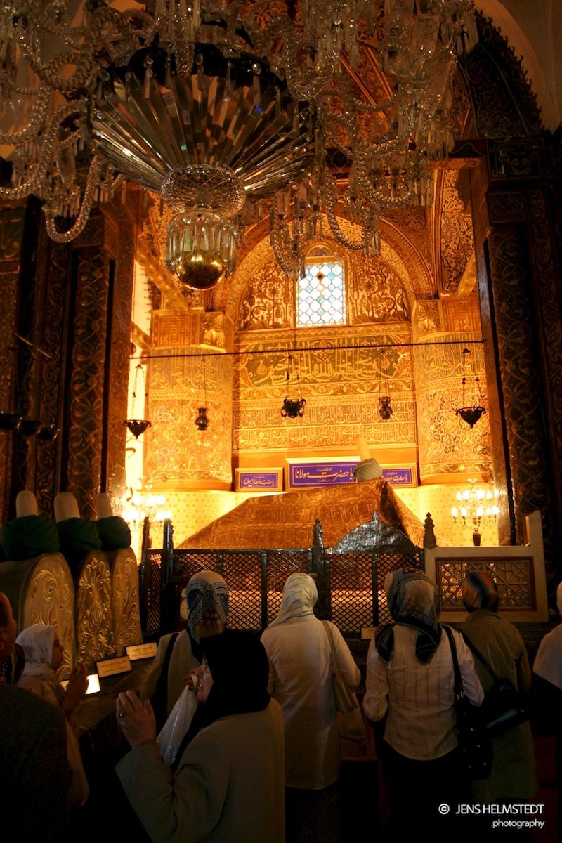 Mevlana Mausoleum in Konya