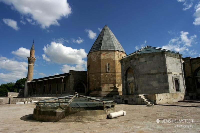 Alaaddin Moschee und Mausoleum in Konya