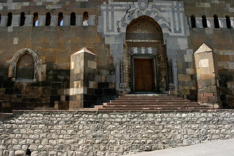Seldschukisches Tor auf dem Alaaddin-Hügel in Konya