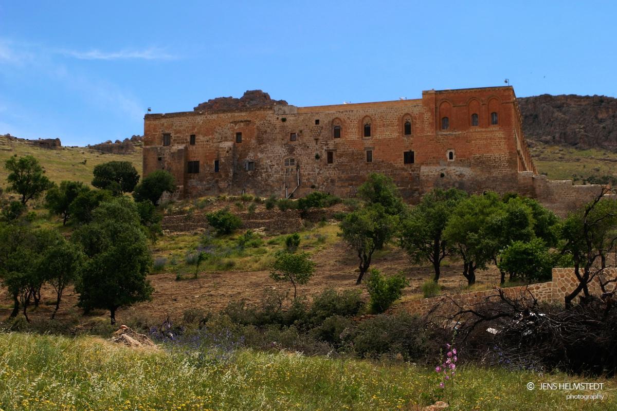 Deyrulzafaran Kloster in Mardin