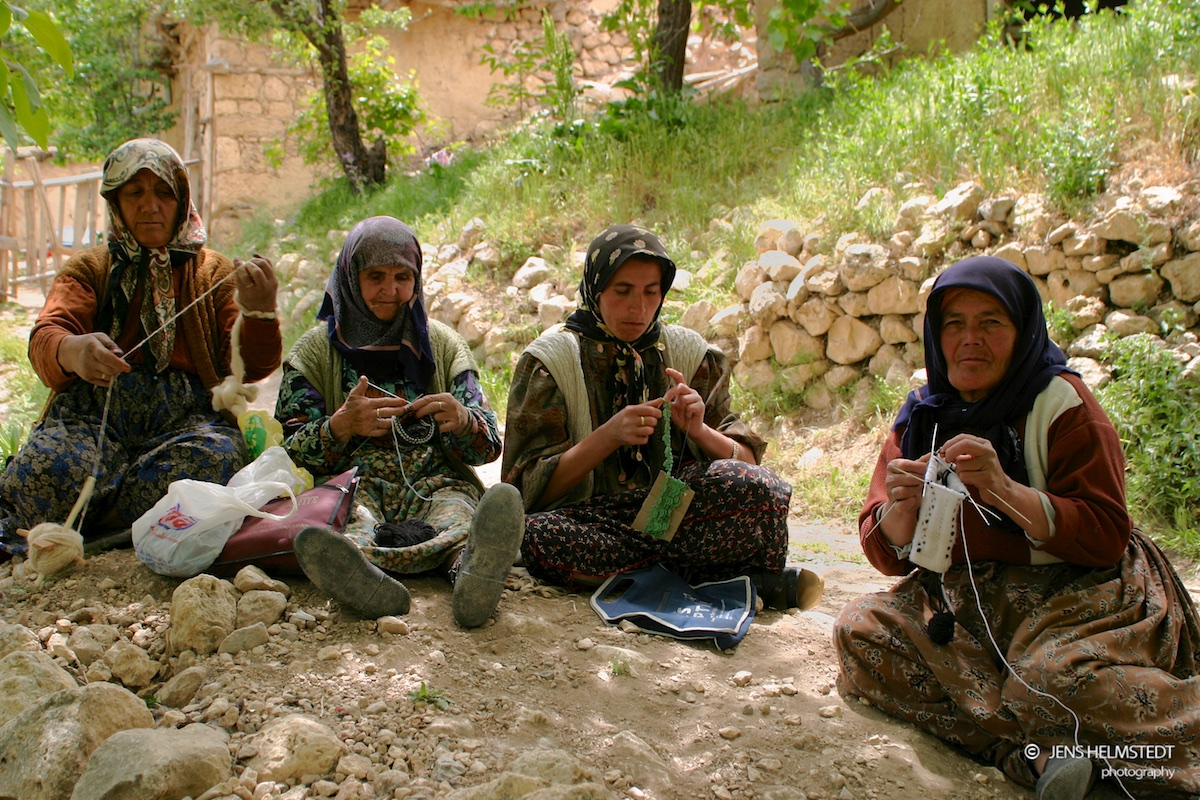 Frauen in Taskale, Region Karaman