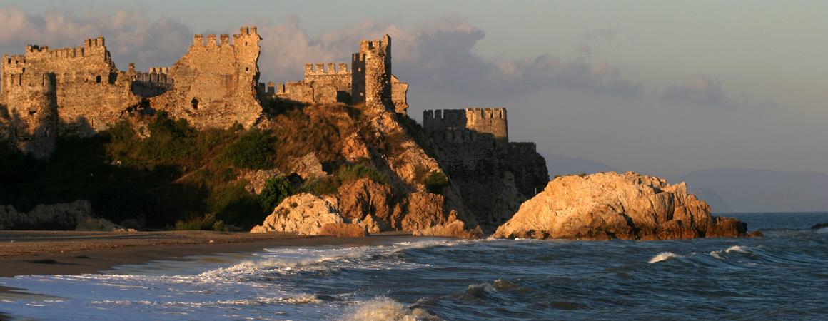 Mittelmeer-Region der Türkei - Ritterburg in Anamur