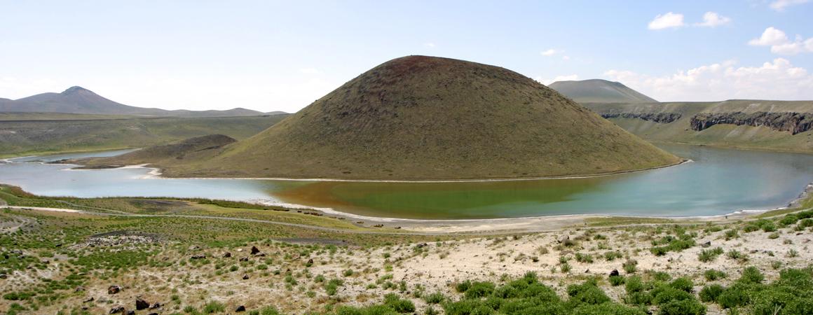 Zentralanatolien in der Türkei - Meke Vulkankrater bei Karapinar