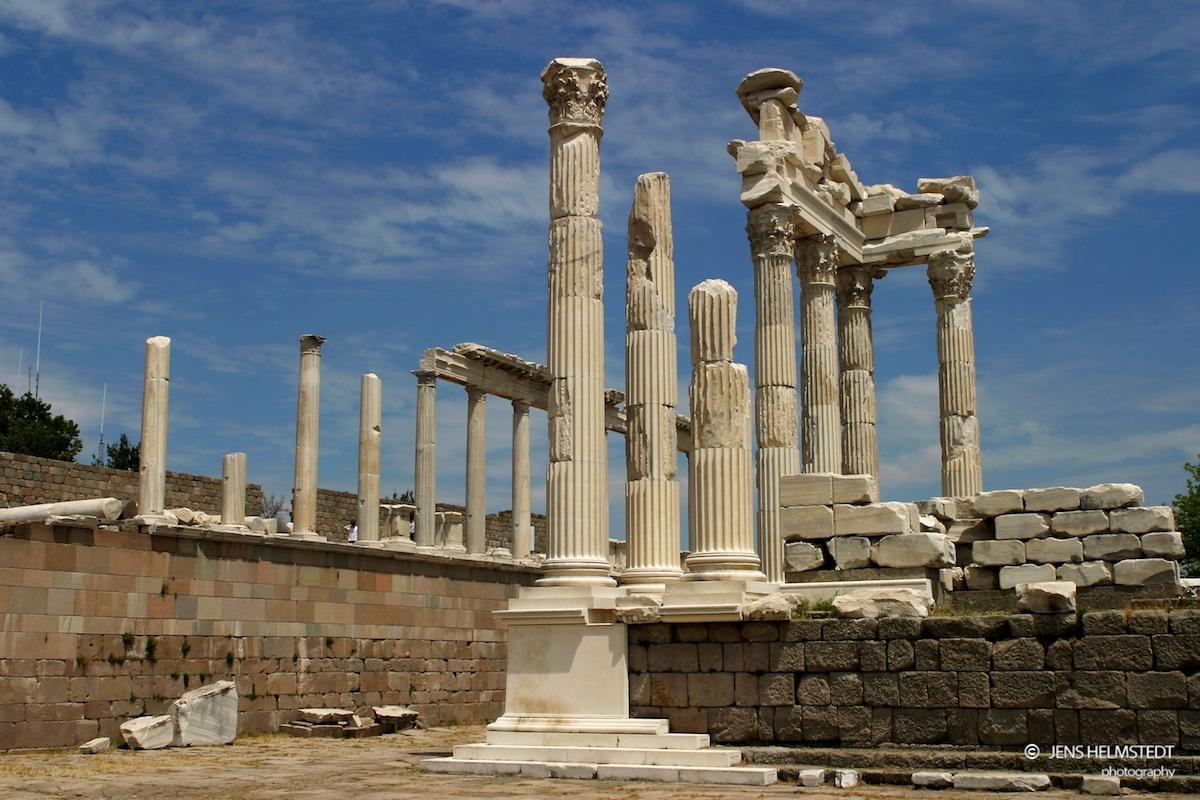 Trajan Tempel in Pergamon
