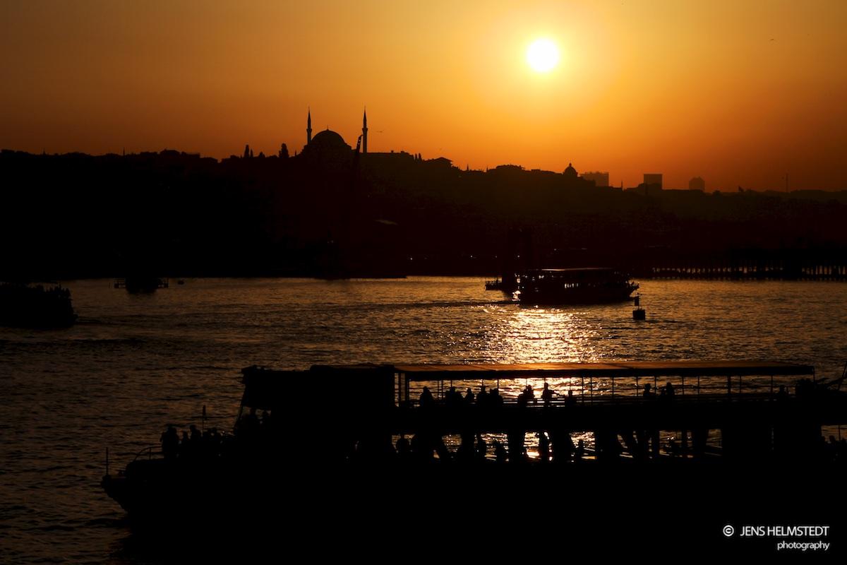 Das Goldene Horn in Istanbul