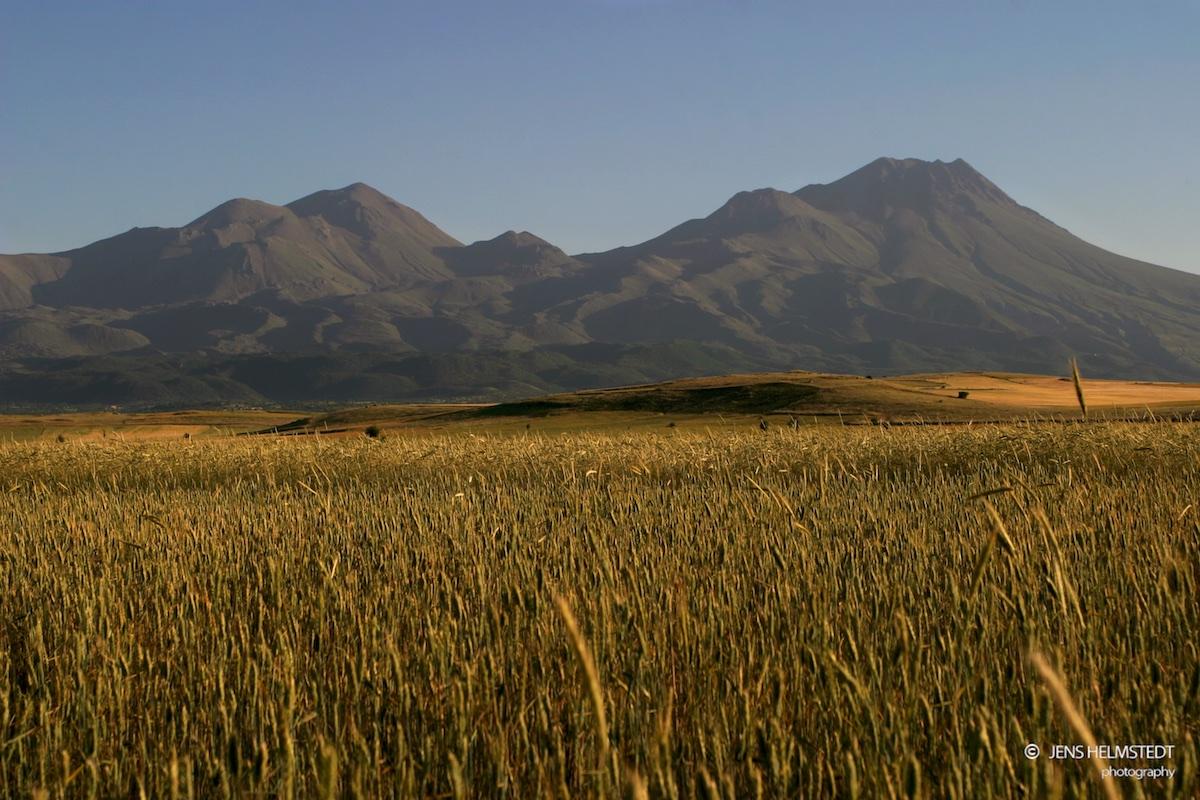 Der Berg Hasan in Kappadokien