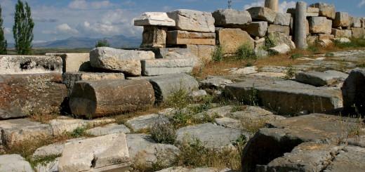 Ruins of Antiochia in Pisidia, Yalvac