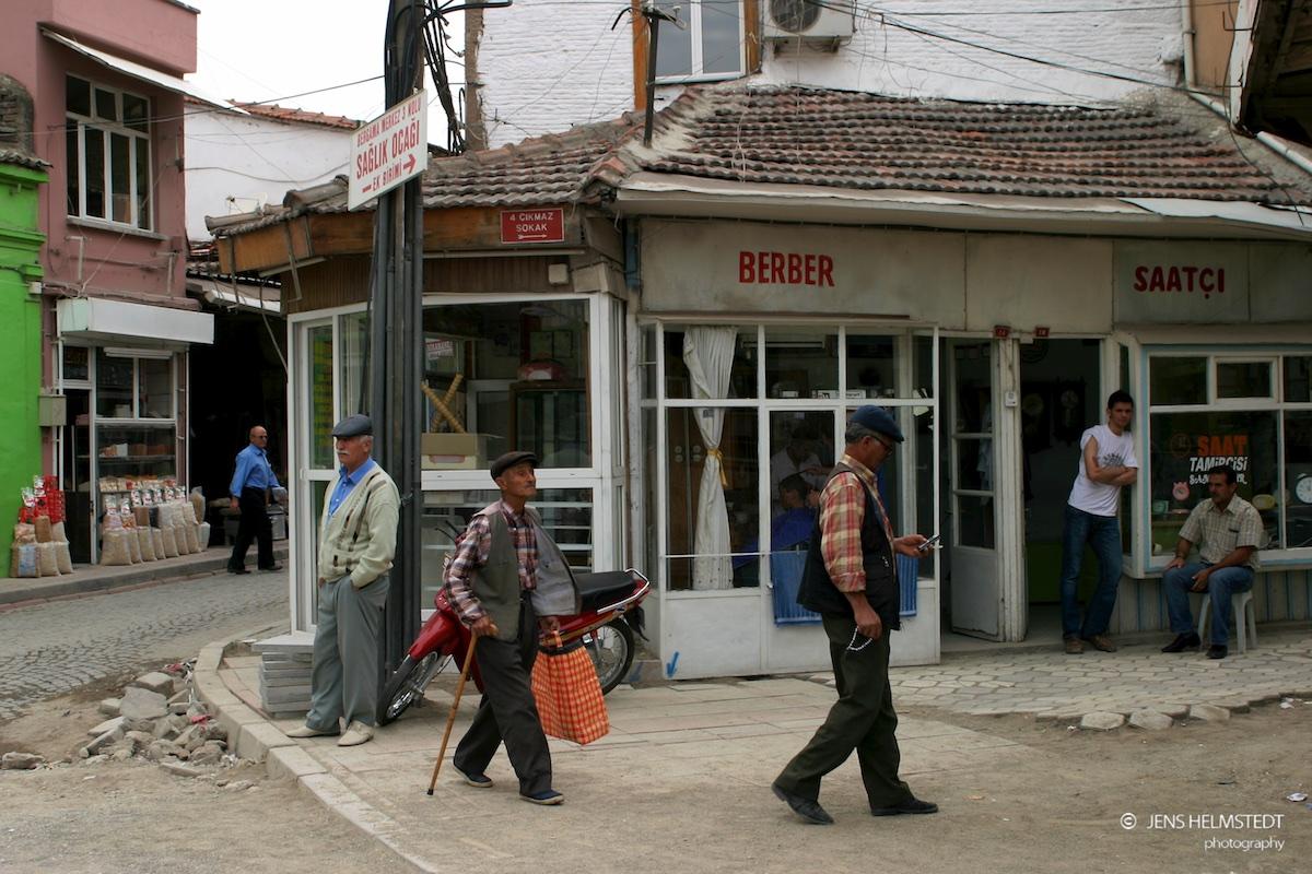 Strassenszene in Bergama