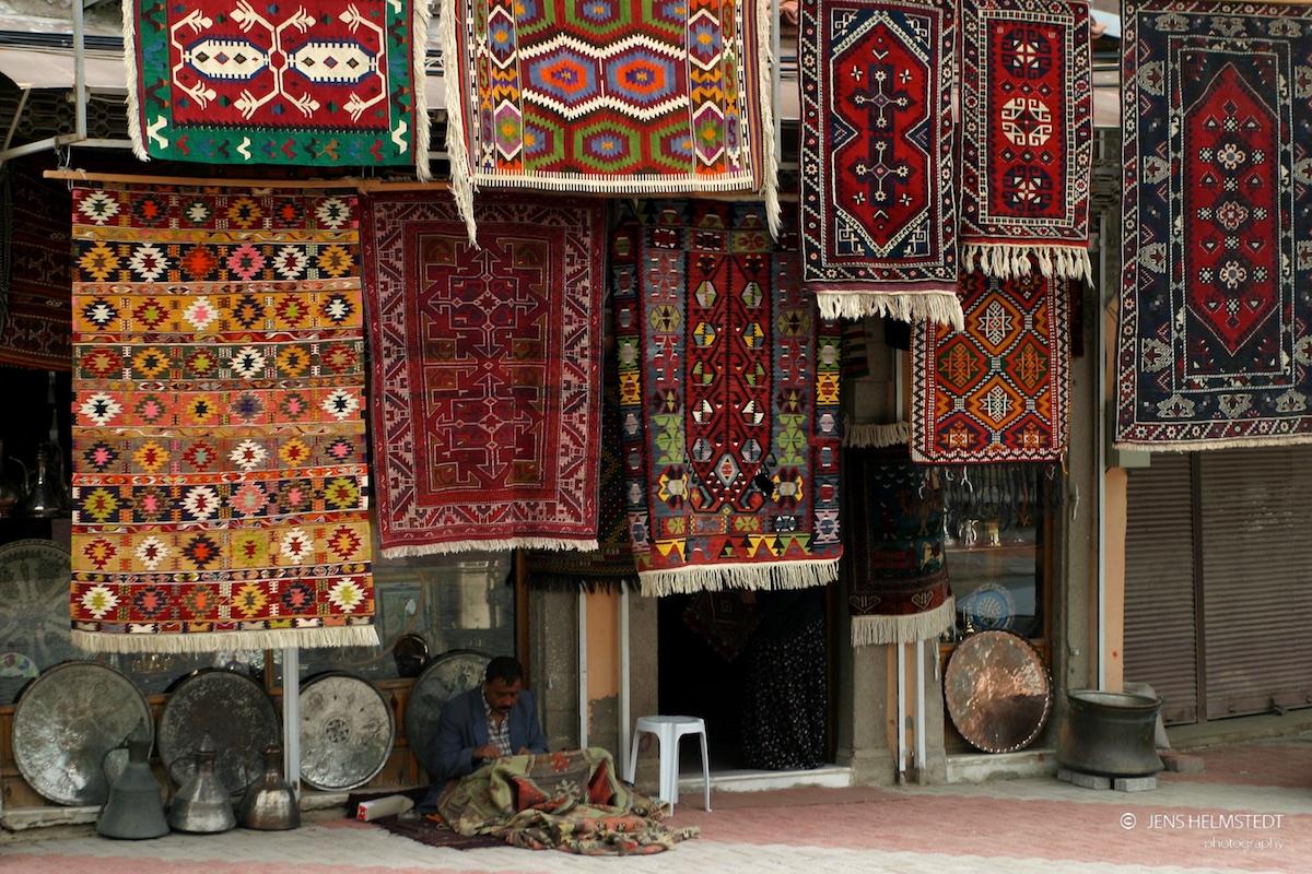 Teppichhändler in Bergama