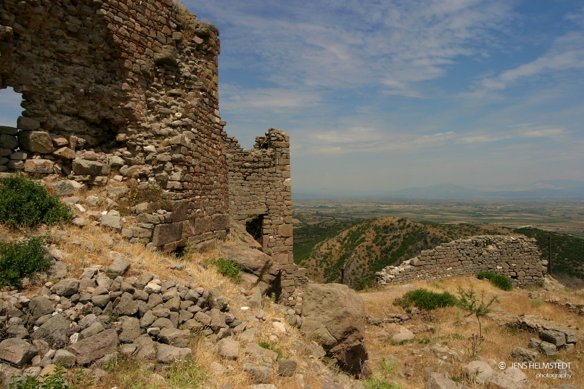 Ruinen des Palastes von Pergamon